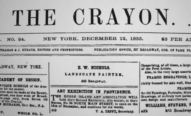 Crayon Tefft RIAA 1855exhibit